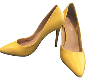 Charles David Yellow Pumps