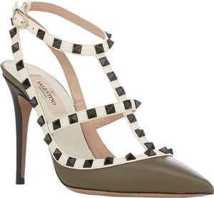 Valentino army green Pumps