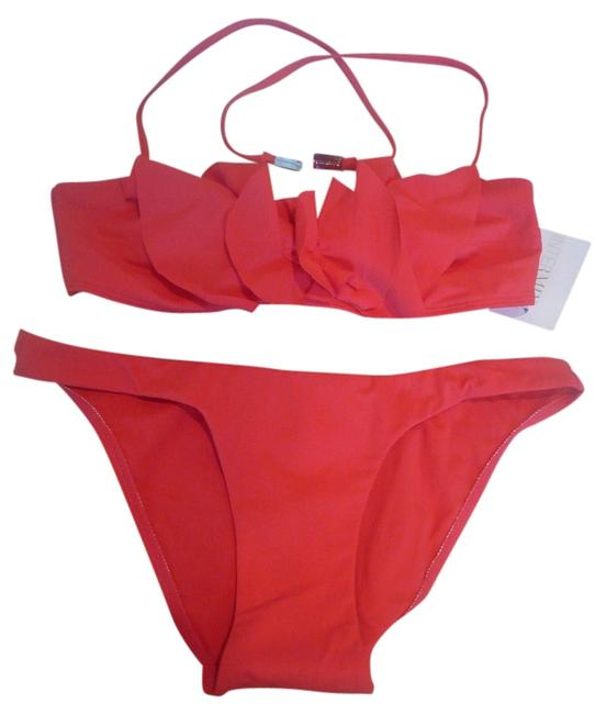 ZIMMERMANN Zimmerman Red Haute Couture Bikini