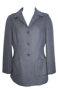 Tahari Wool Jacket NAVY BLUE Blazer