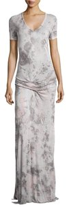 GREY/WHITE Maxi Dress by Young Fabulous & Broke
