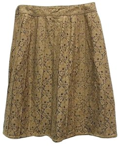FELICIA Lace Skirt BROWN