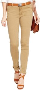 Ralph Lauren Polo Chino New With Tag Tan Skinny Pants Granary Tan