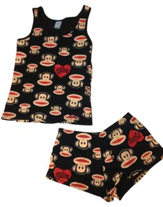 Paul Frank Paul Frank Julius pj pajama set black tank top and short