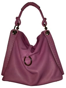 BCBGMAXAZRIA Tote Shoulder Satchel in Pink
