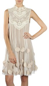 Modcloth Crochet Lace Embroidered Dress