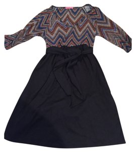 Maternal America Tie Waist Dress