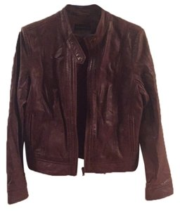 Bagatelle Brown Leather Jacket
