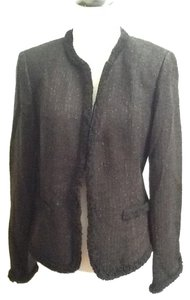 Charter Club Acrylic Wool Classic Office Work Job New With Tag Black Jacket