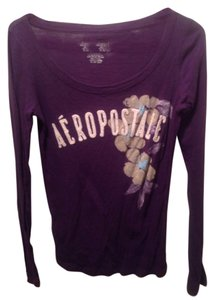 Aéropostale T Shirt Purple