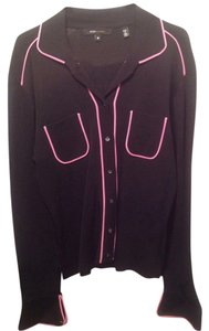 BCBGMAXAZRIA Button Down Shirt Black