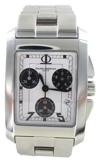 Preload https://item3.tradesy.com/images/baume-and-mercier-baume-and-mercier-watch-stainless-steel-geneve-hampton-chronograph-white-dial-men-972637-0-0.jpg?width=440&height=440