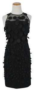 Anthropologie Effervescence Black Cocktail Dress