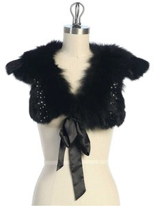 Hazel Faux fur & Ribbon collar Scarf
