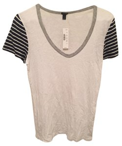 J.Crew T Shirt White/Black