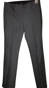 Ann Taylor Loft Sits Below Waist Trouser Pants gray