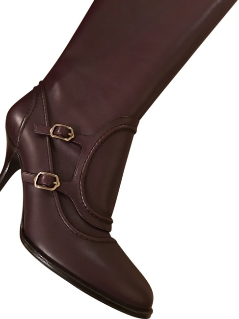 Item - Wine Laurita 8cm Price Calf Flesh Skin Color 7c Boots/Booties Size US 7 (C, D)