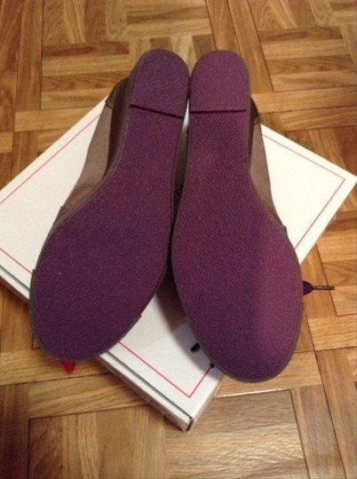 Nanette Lepore Taupe/purple Wedges