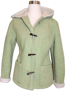 Other For The Republic Fleece Coat Toggle Buttons Faux Shearling Green Jacket