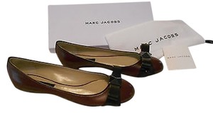 Marc Jacobs Couture Line Elegant Made In Italy Merlot Flats