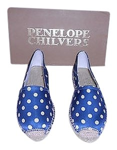Penelope Chilvers Silky Texture Blue Flats