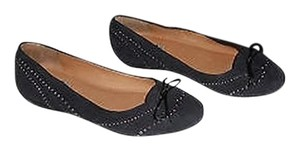 Fratelli Rossetti Studded Made In Italy Black Flats