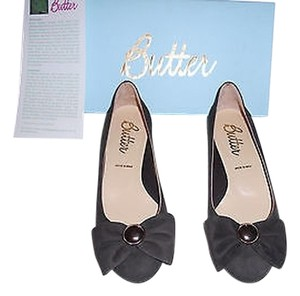 Butter Wedge Made In Italy Chocolate Brown Wedges