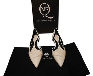 MCQ by Alexander McQueen Versatile Chic D'orsay White Flats