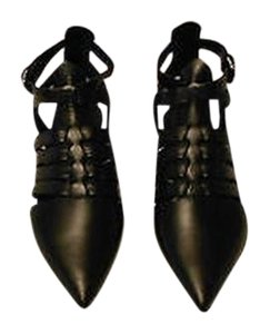 Proenza Schouler Innovative Design Supple Leather Made In Italy Black Sandals