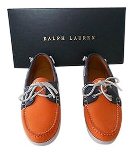 Ralph Lauren Collection Thea Good Looking Comfortable Women's Boat Multicolor Flats