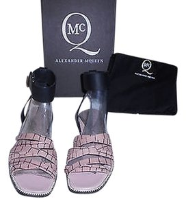 MCQ by Alexander McQueen Reptile Design Made In Italy Multicolor Sandals