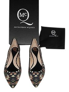 MCQ by Alexander McQueen Camouflage Green/Black/Dusty Mauve/Cream Flats
