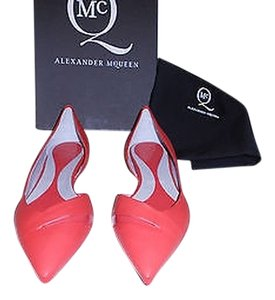 MCQ by Alexander McQueen Lovely Color Chic D'orsay Made In Italy Watermelon Flats