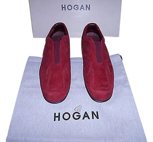 Hogan Foot Support Comfortable Red Athletic