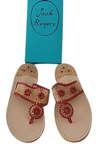 Jack Rogers Palermo Leather And Cork Brown Sandals