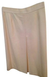 Evan Picone Skirt Pearl, or champagne or ultra light beige