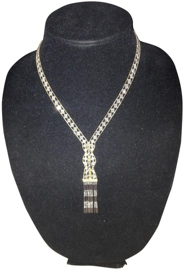 Preload https://item2.tradesy.com/images/unknown-14k-two-tone-goldsilver-hula-necklace-973206-0-1.jpg?width=440&height=440