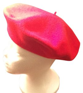 Vintage Marshall Field Champs Elysees Vintage Marshall Fields Red Made in France Beret Wool Hat