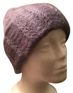 Other Gray Winter Knit Hat Cap In Soft Acrylic