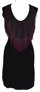 Tart short dress Black / Purple on Tradesy