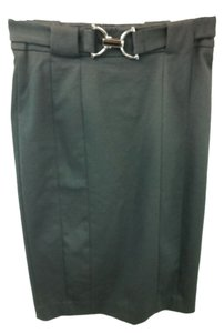 Zara Stretchy Pencil Skirt BLACK