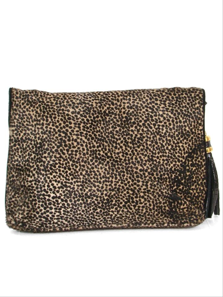 celine luggage bag replica - Derek Lam Handbag - Leopard Print Pony Hair Brown, Black, Gold ...
