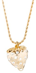 Kenneth Jay Lane KJL-Kenneth Jay Lane Strawberry Necklace