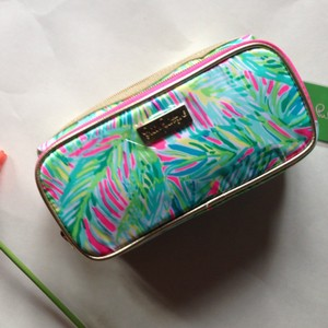 Lilly Pulitzer Lilly Pulitzer Make It Cosmetic Case Tropical Pink Storm