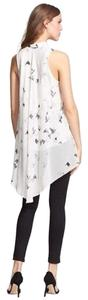 Haute Hippie Silk Top White
