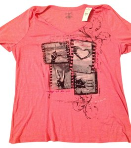Lane Bryant T Shirt Pink