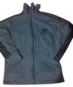 adidas Mens Blue Jacket