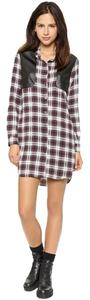 short dress Plaid on Tradesy