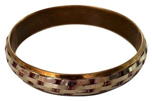 Silver & Brass Bangle