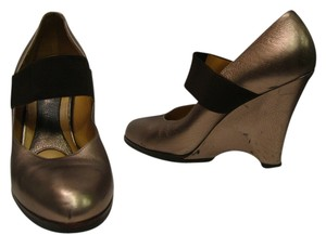 Marni Mary Jane bronze Wedges
